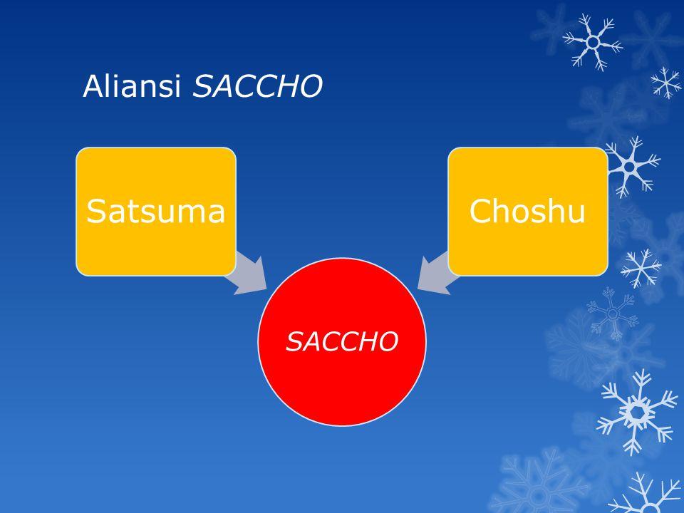 Aliansi SACCHO SACCHO Satsuma Choshu