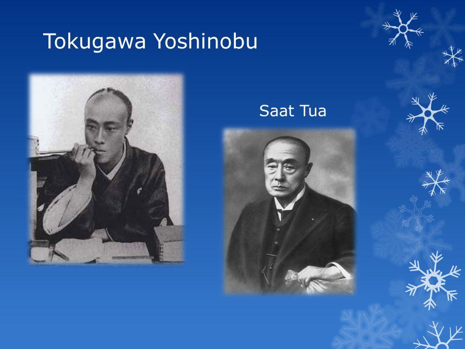 Tokugawa Yoshinobu Saat Muda Saat Tua