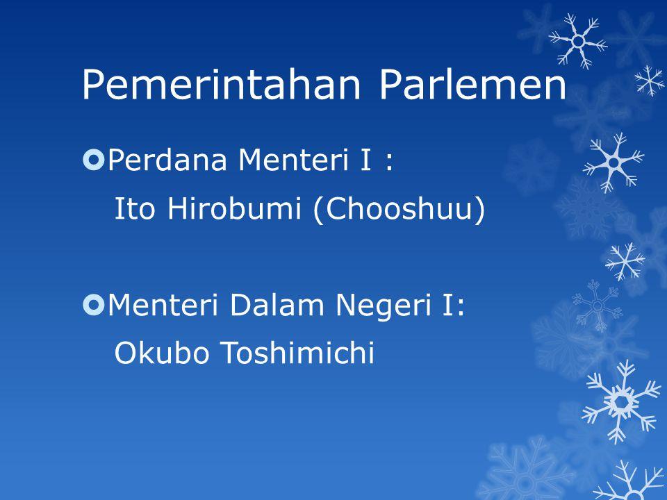 Pemerintahan Parlemen