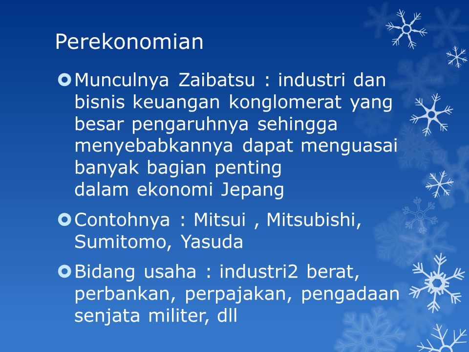 Perekonomian