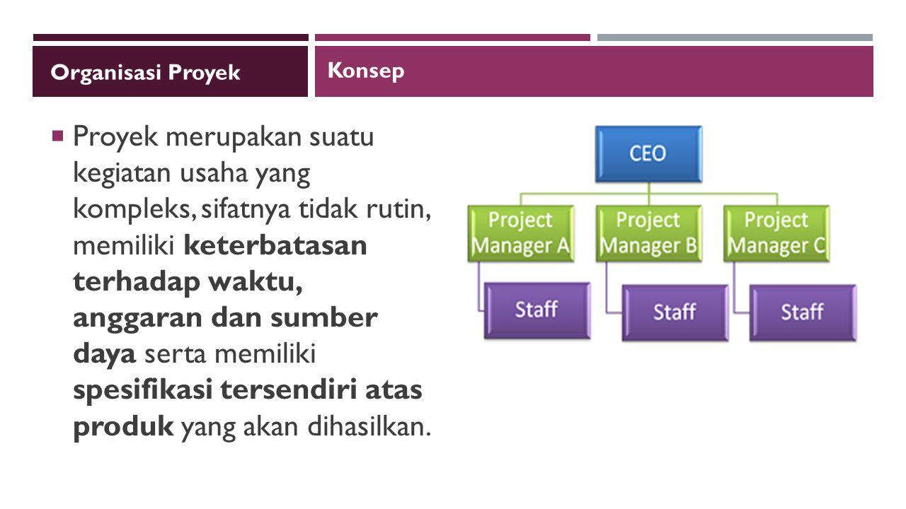 Organisasi Proyek Konsep.