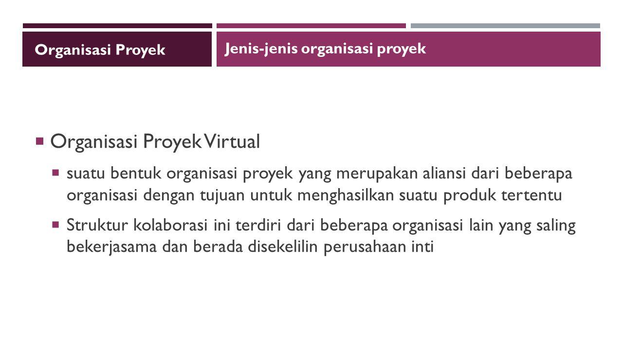 Organisasi Proyek Virtual
