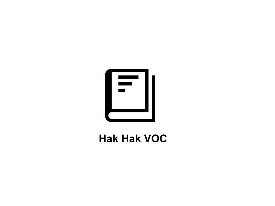 Hak Hak VOC