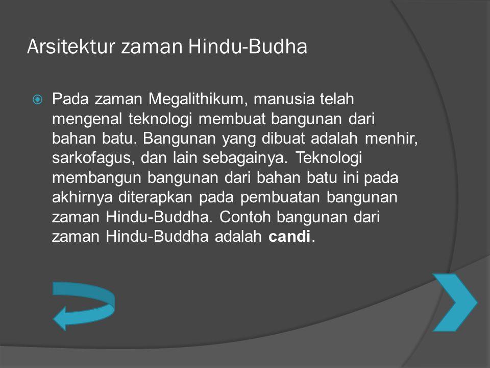 Arsitektur zaman Hindu-Budha