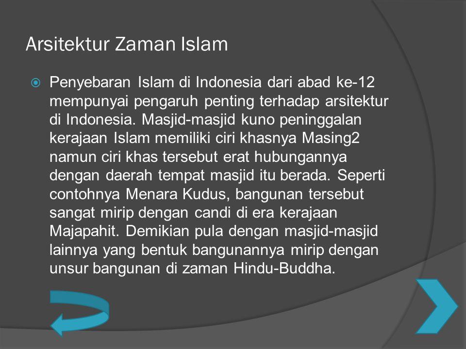 Arsitektur Zaman Islam
