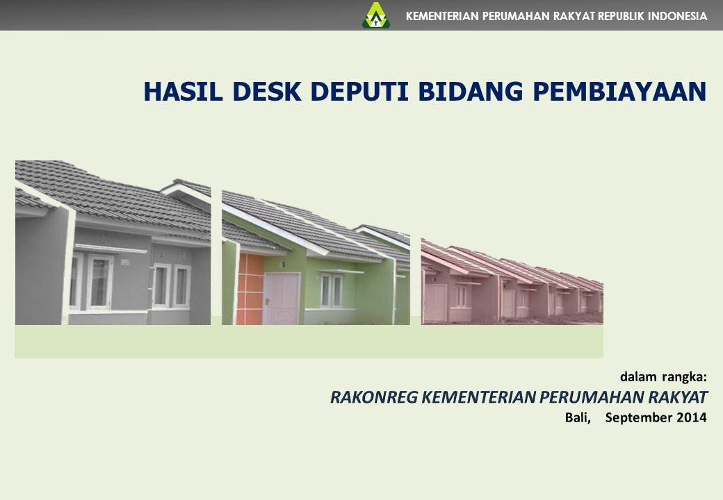 HASIL DESK DEPUTI BIDANG PEMBIAYAAN