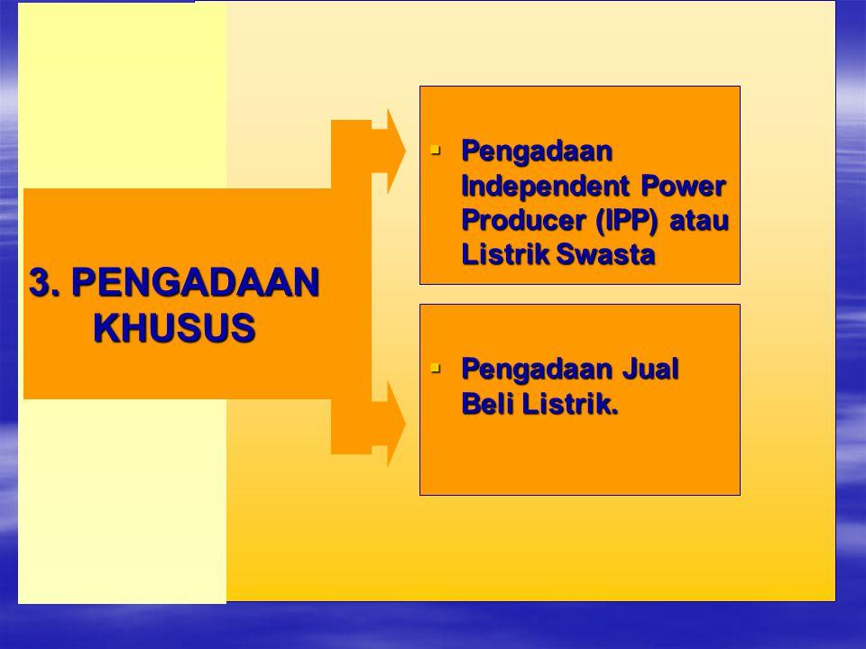 Pengadaan Independent Power Producer (IPP) atau Listrik Swasta