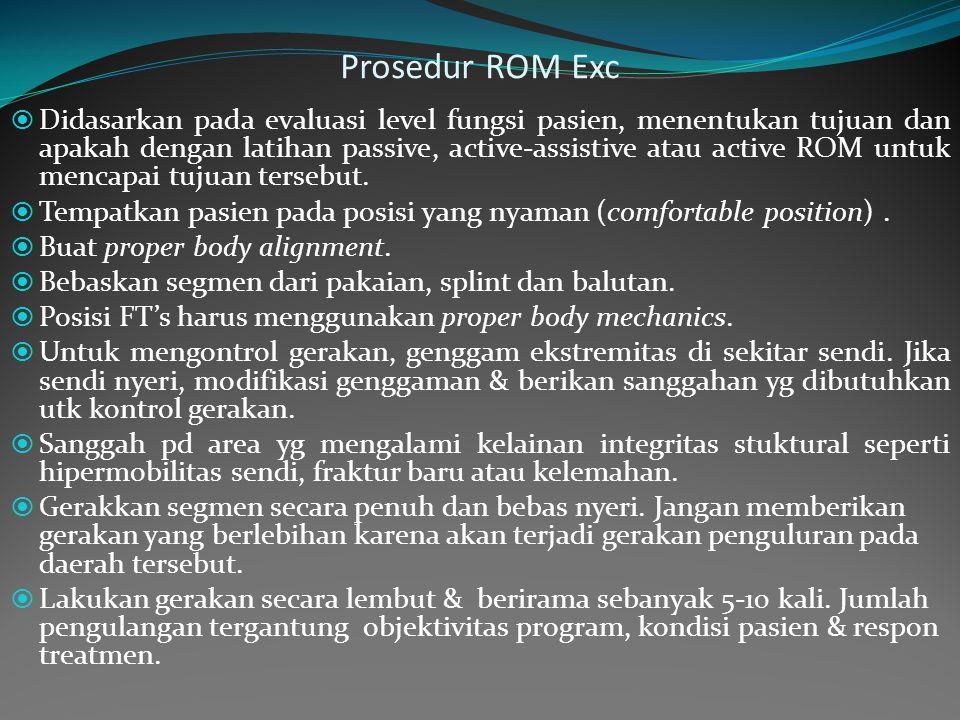 Prosedur ROM Exc