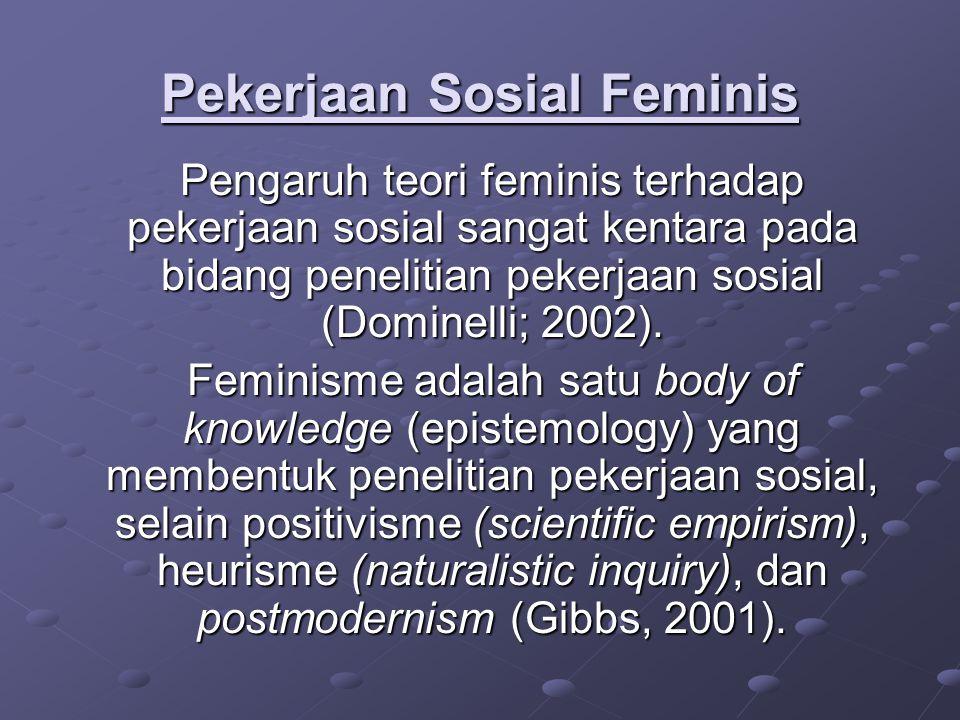 Pekerjaan Sosial Feminis