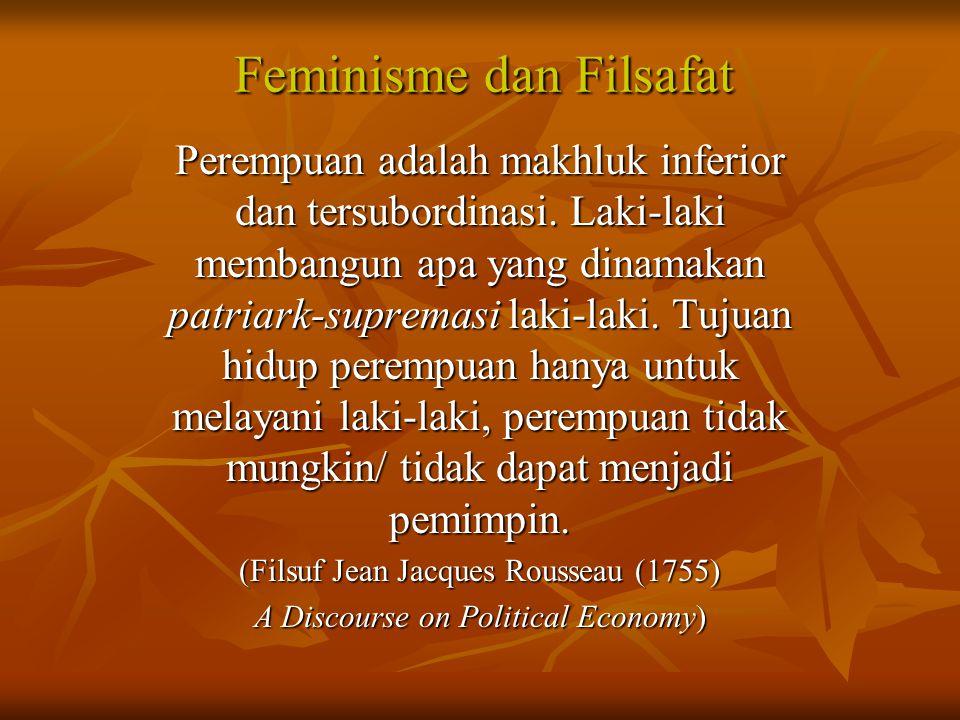 Feminisme dan Filsafat