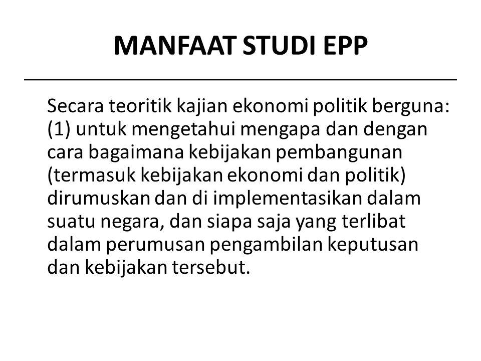 MANFAAT STUDI EPP