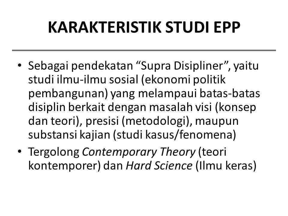 KARAKTERISTIK STUDI EPP