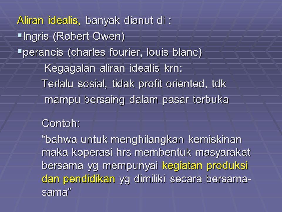 Aliran idealis, banyak dianut di :