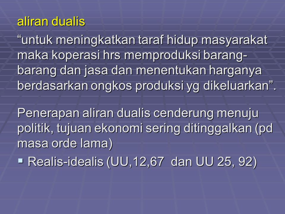aliran dualis