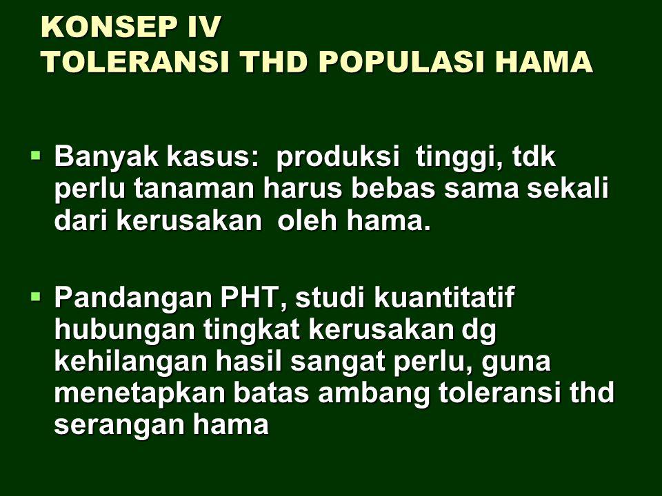KONSEP IV TOLERANSI THD POPULASI HAMA