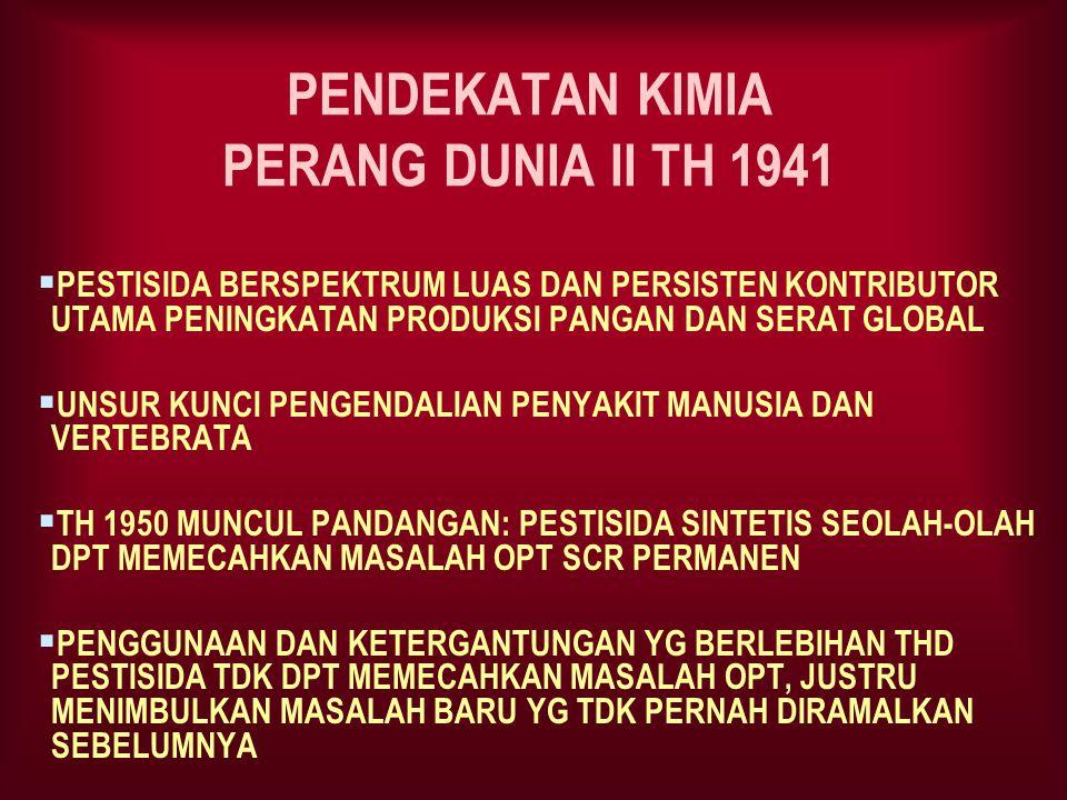 PENDEKATAN KIMIA PERANG DUNIA II TH 1941