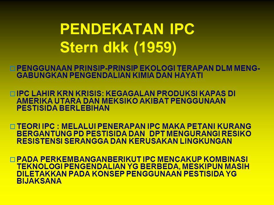 PENDEKATAN IPC Stern dkk (1959)