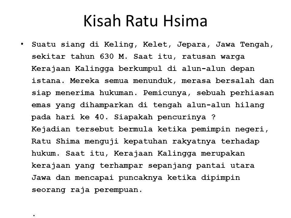 Kisah Ratu Hsima