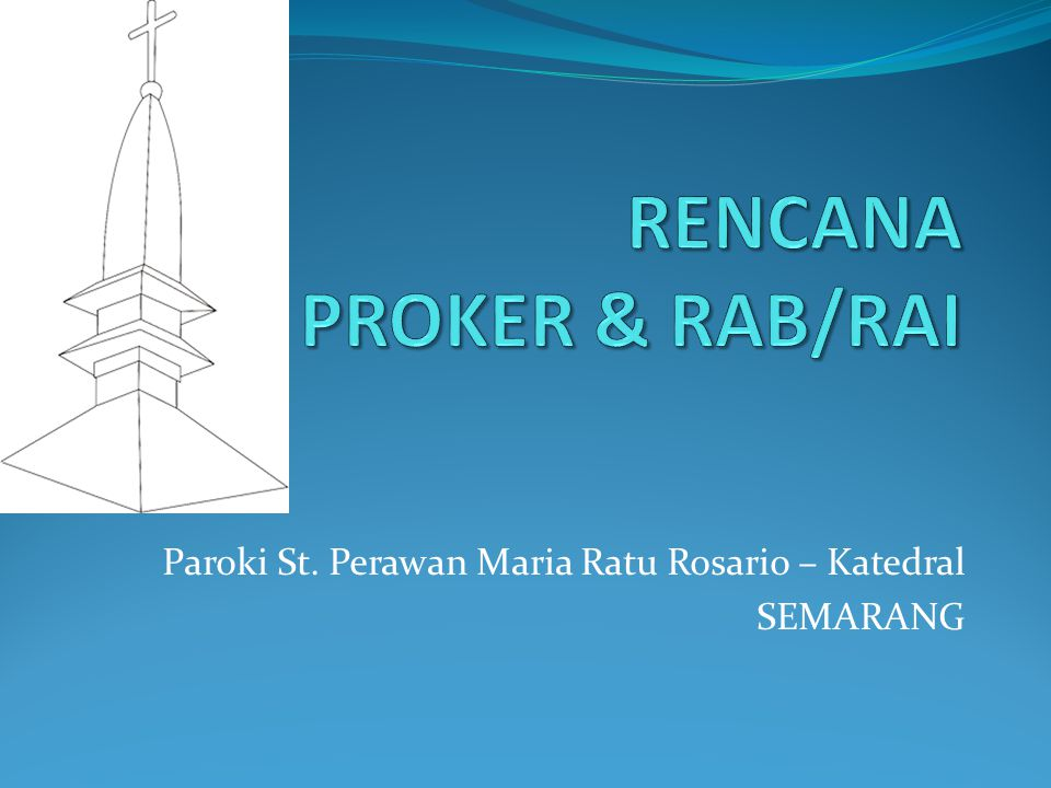 RENCANA PROKER & RAB/RAI