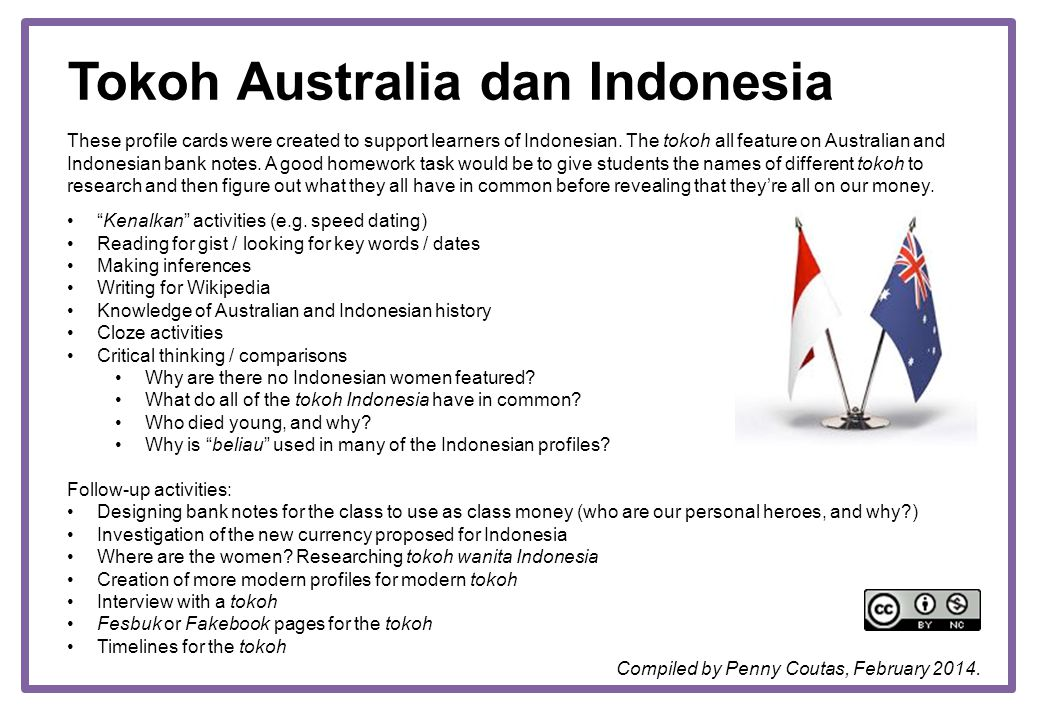 Tokoh Australia dan Indonesia