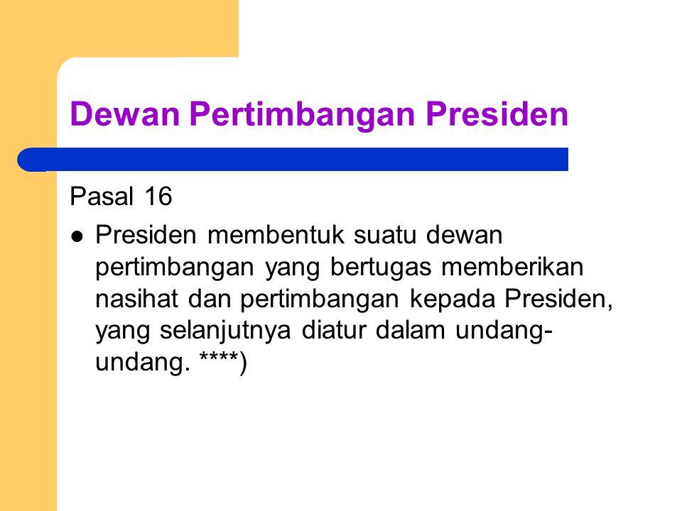 Dewan Pertimbangan Presiden