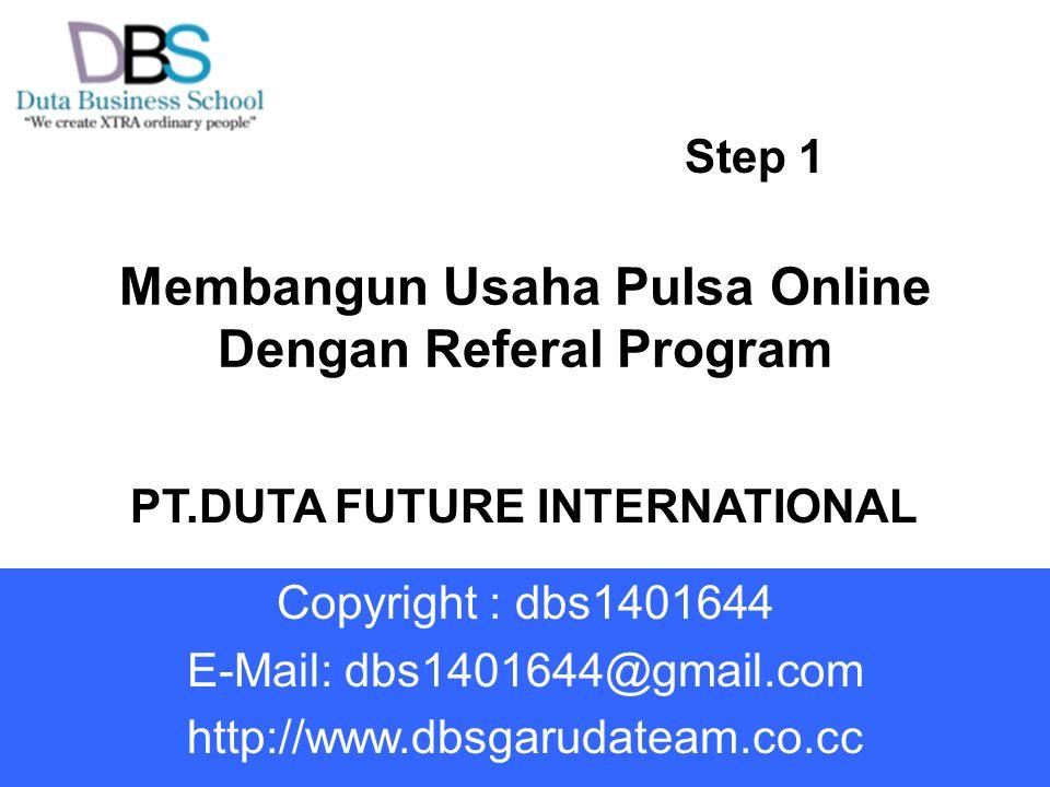 Membangun Usaha Pulsa Online Dengan Referal Program