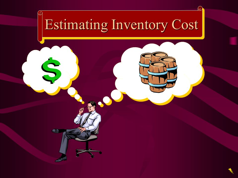 Estimating Inventory Cost