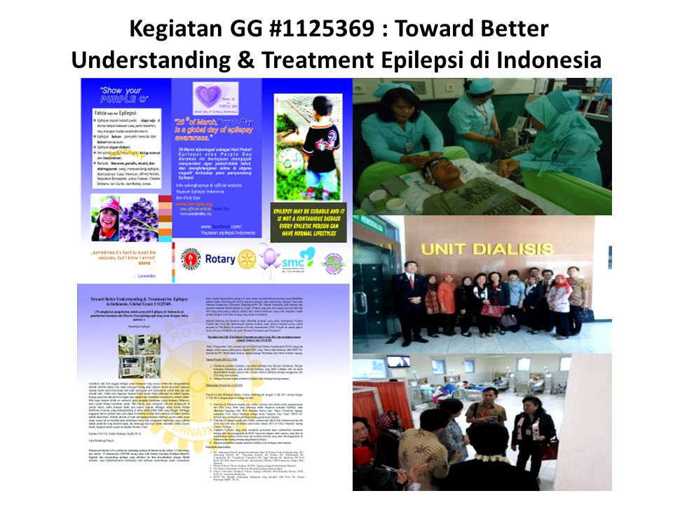 Kegiatan GG #1125369 : Toward Better Understanding & Treatment Epilepsi di Indonesia