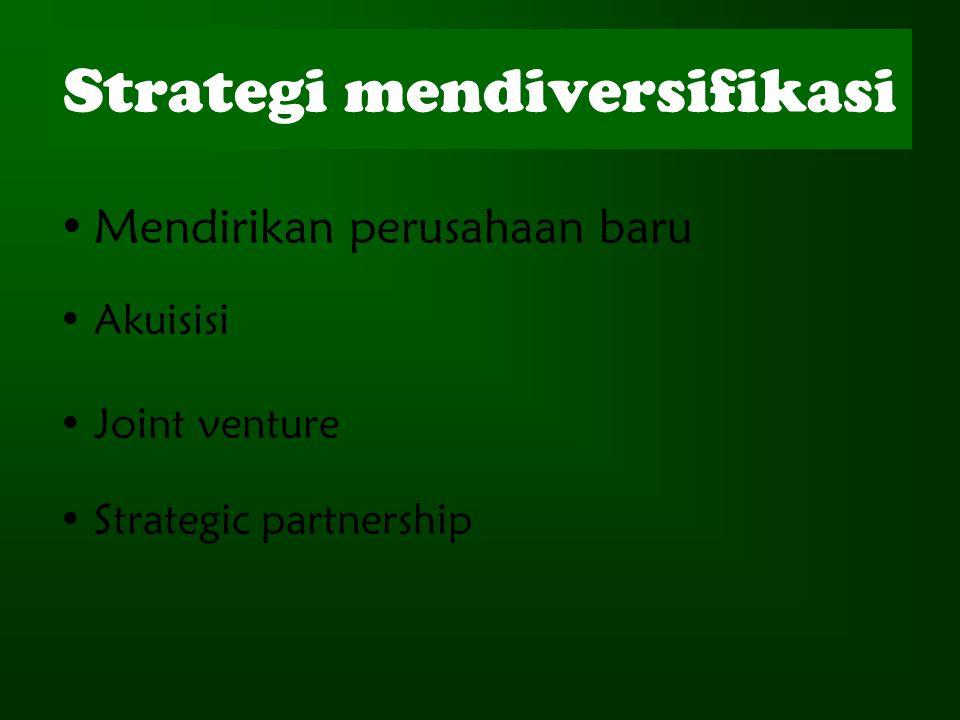 Strategi mendiversifikasi