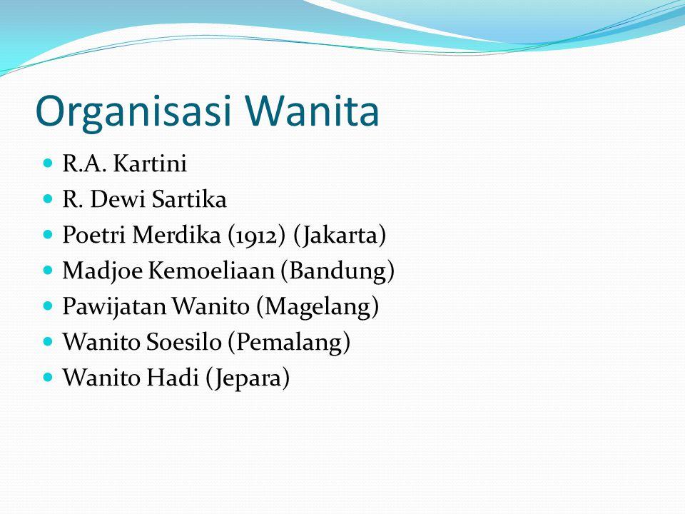 Organisasi Wanita R.A. Kartini R. Dewi Sartika