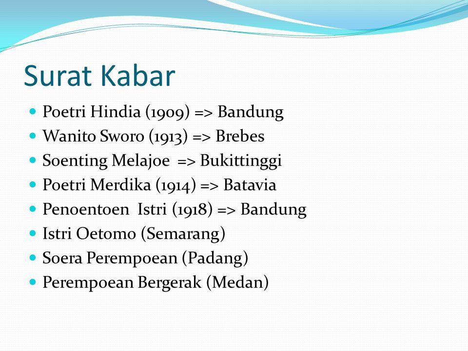 Surat Kabar Poetri Hindia (1909) => Bandung