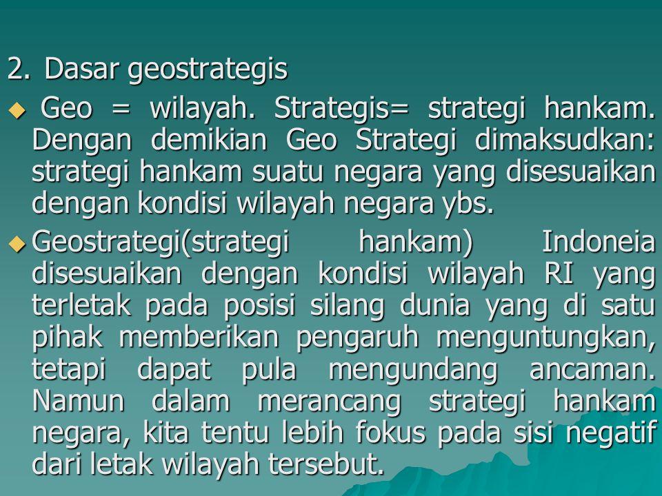 Dasar geostrategis
