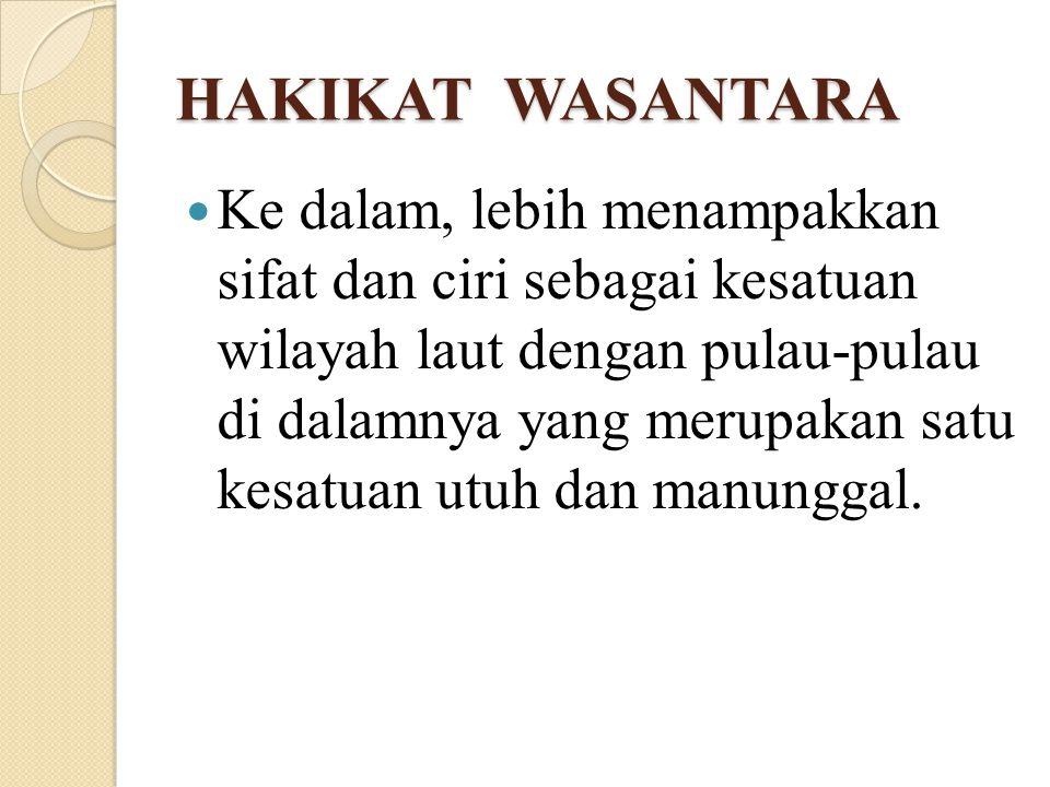 HAKIKAT WASANTARA