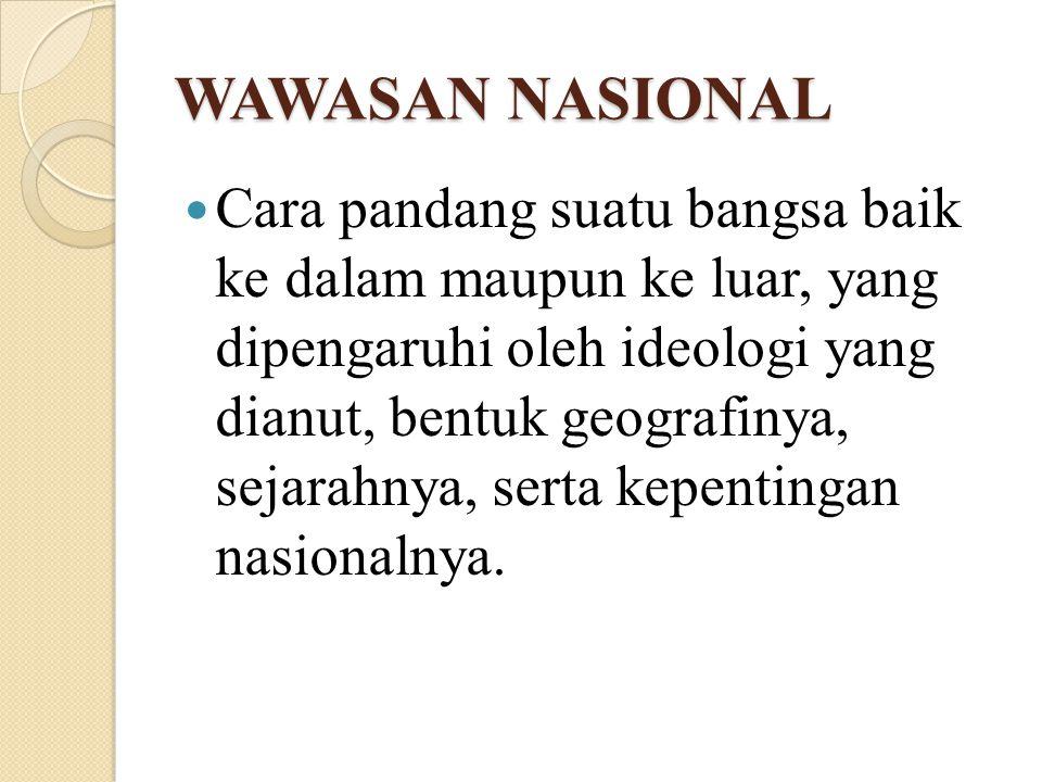 WAWASAN NASIONAL