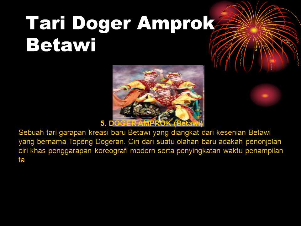 Tari Doger Amprok Betawi