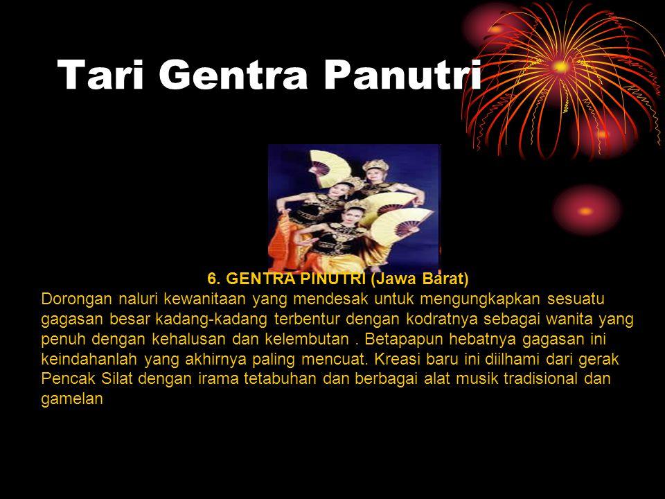 6. GENTRA PINUTRI (Jawa Barat)