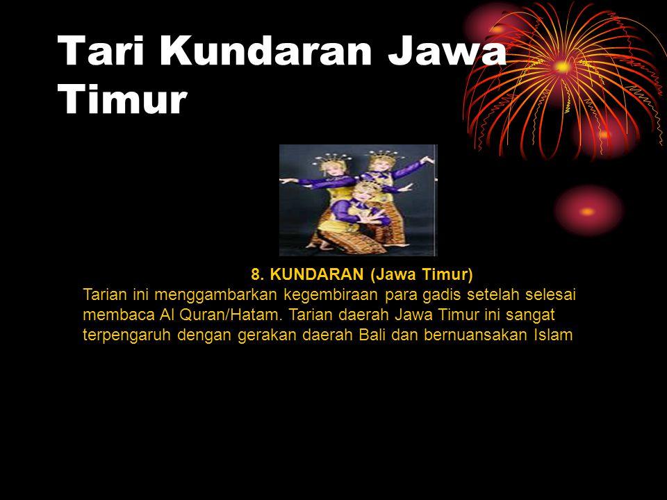 Tari Kundaran Jawa Timur