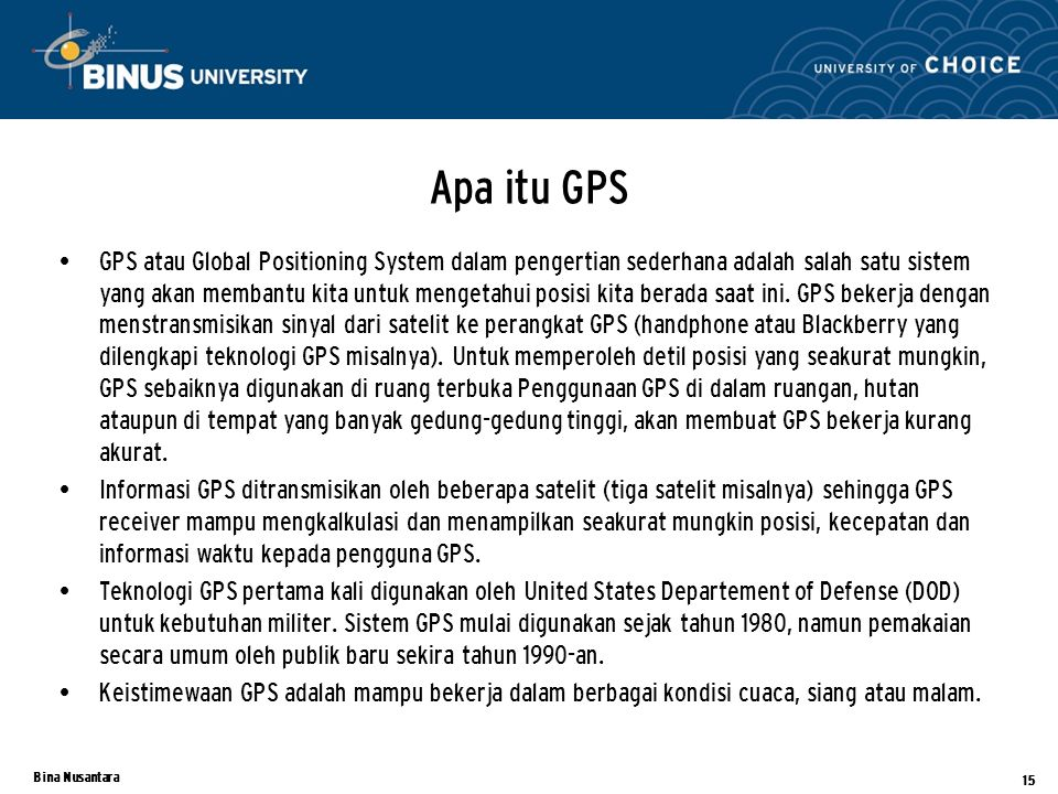 Apa itu GPS