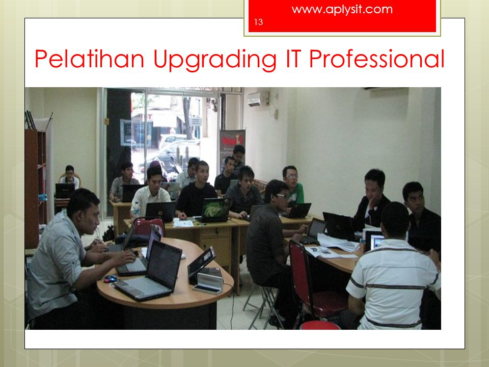 Pelatihan Upgrading IT Professional