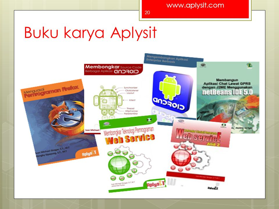 Buku karya Aplysit For a better Indonesia
