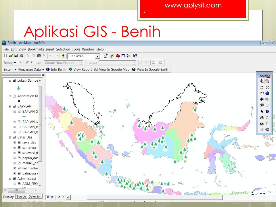 Aplikasi GIS - Benih For a better Indonesia