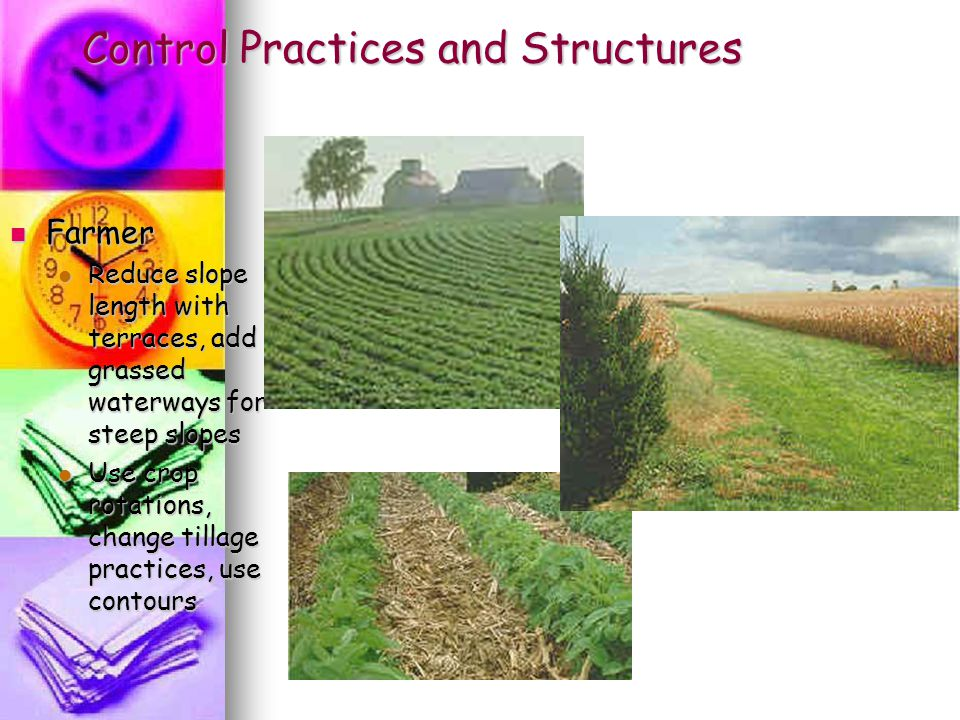 Control Practices and Structures