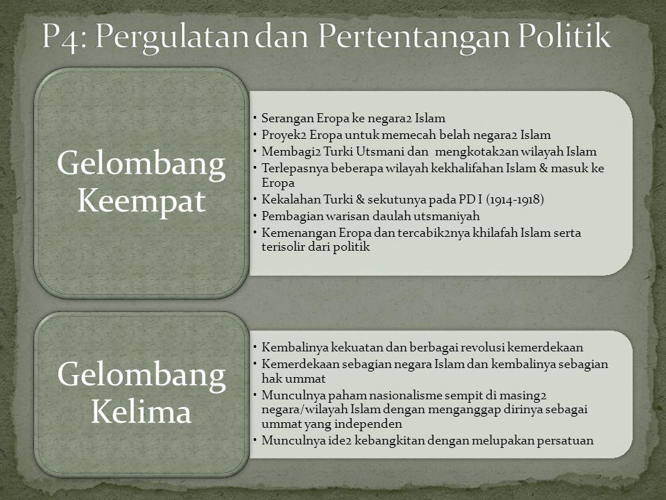 P4: Pergulatan dan Pertentangan Politik