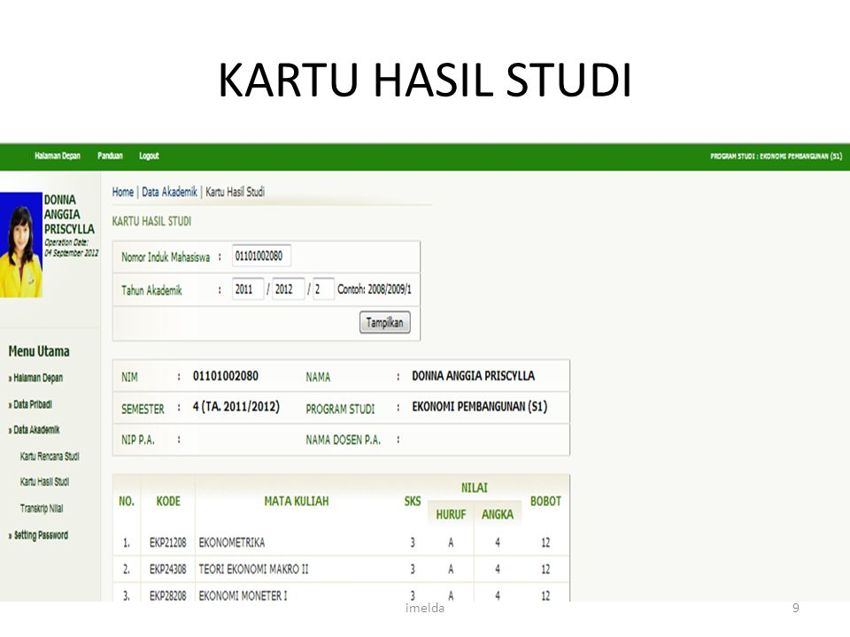 22/08/2013 KARTU HASIL STUDI imelda Imelda