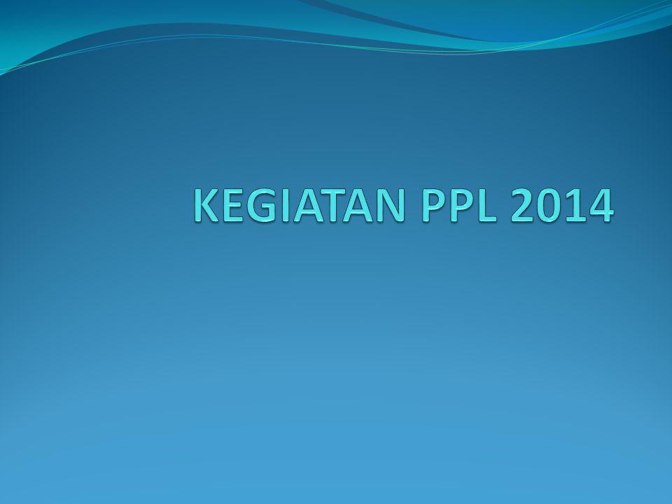 KEGIATAN PPL 2014