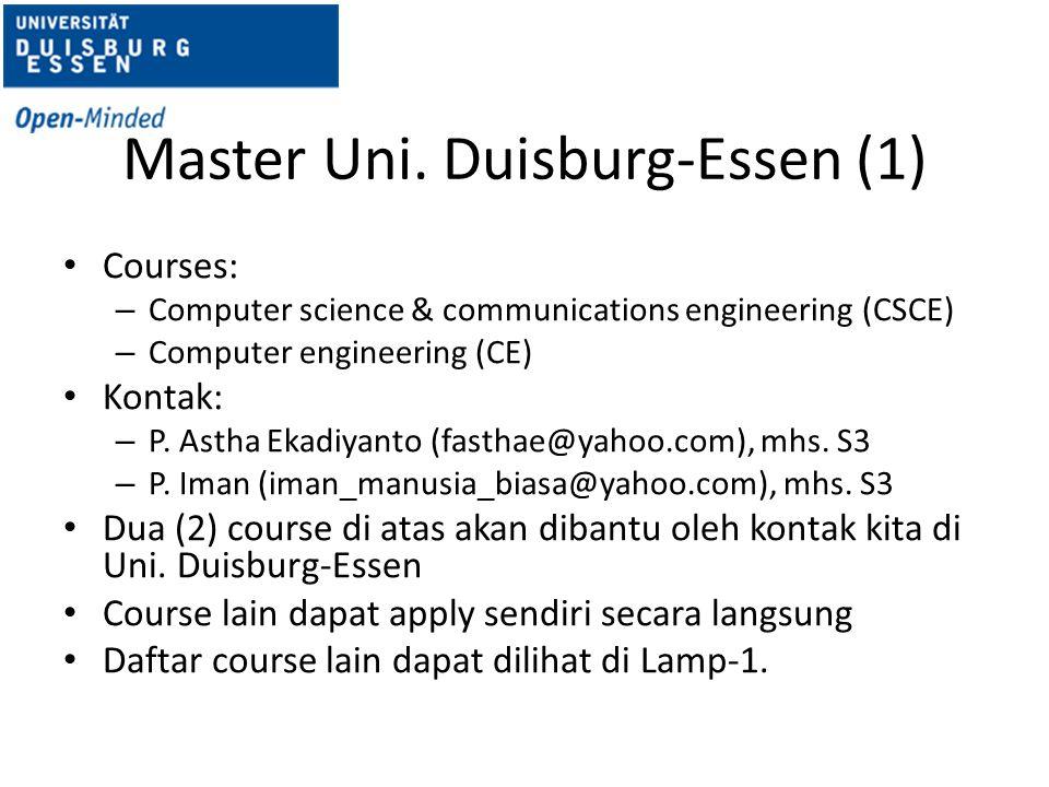 Master Uni. Duisburg-Essen (1)