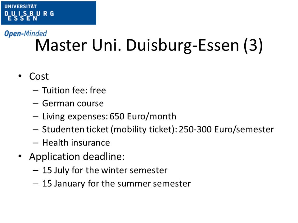 Master Uni. Duisburg-Essen (3)