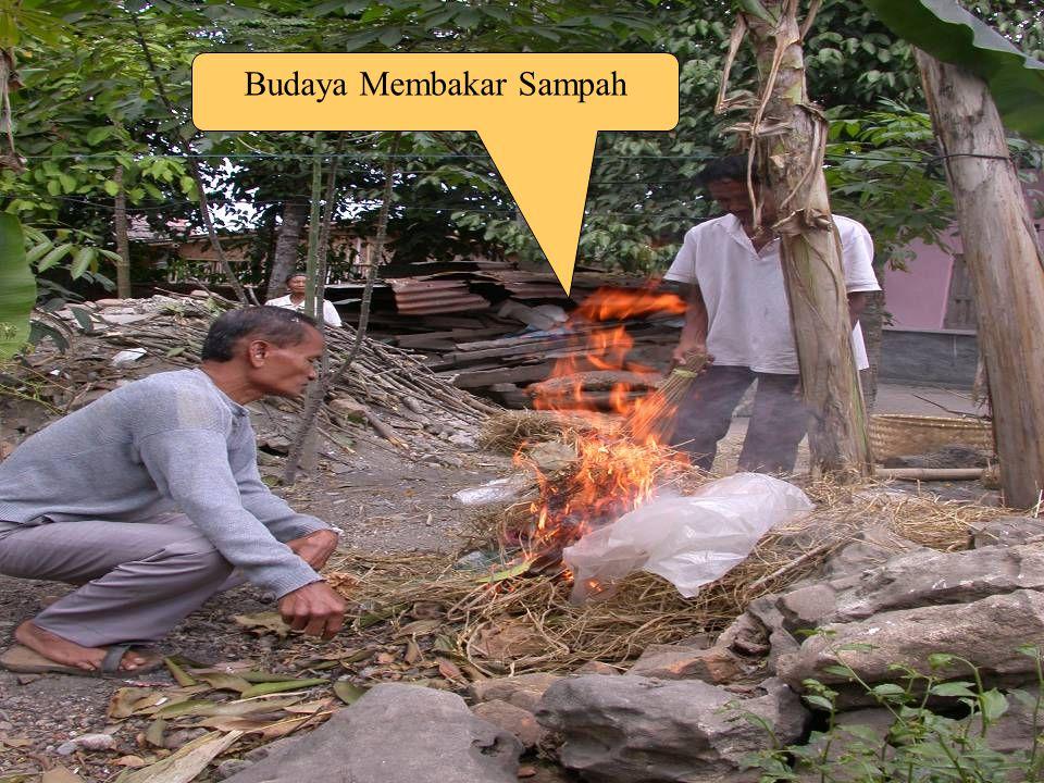 Budaya Membakar Sampah