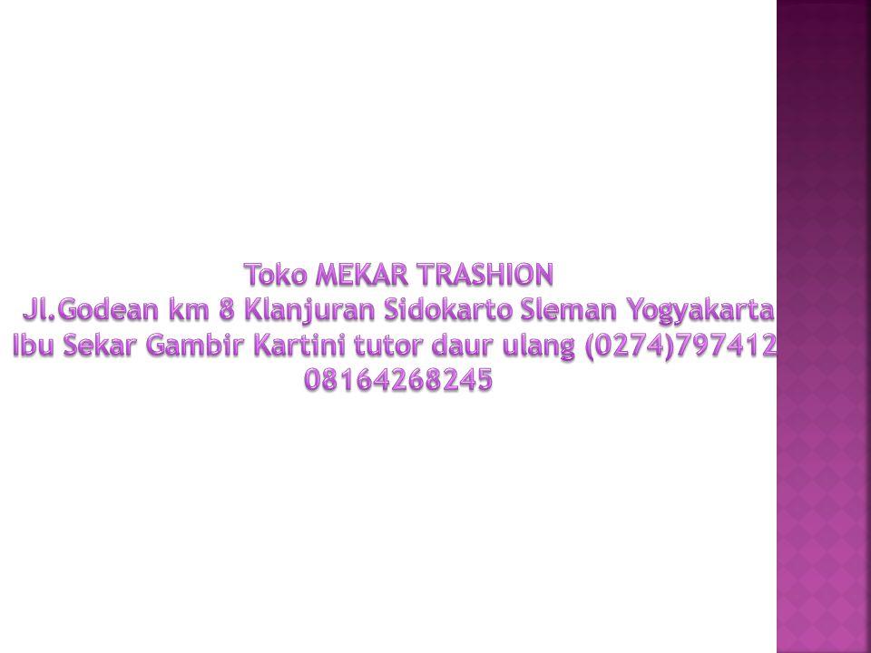 Jl.Godean km 8 Klanjuran Sidokarto Sleman Yogyakarta