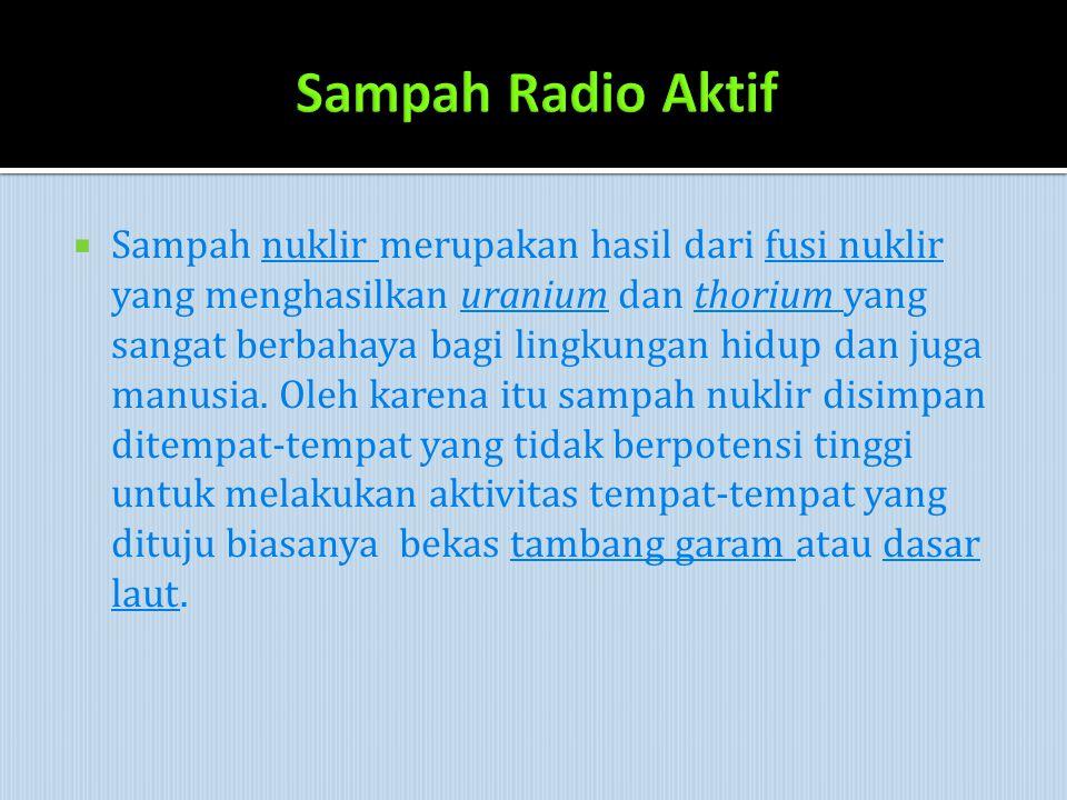 Sampah Radio Aktif